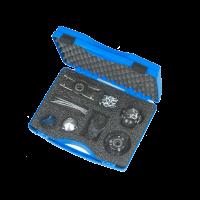 Rioned set reťazových trysiek 1/2'' v kufri