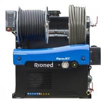 Rioned AquaJet vstavaná vysokotlaková čistička potrubí do Ø 350 mm