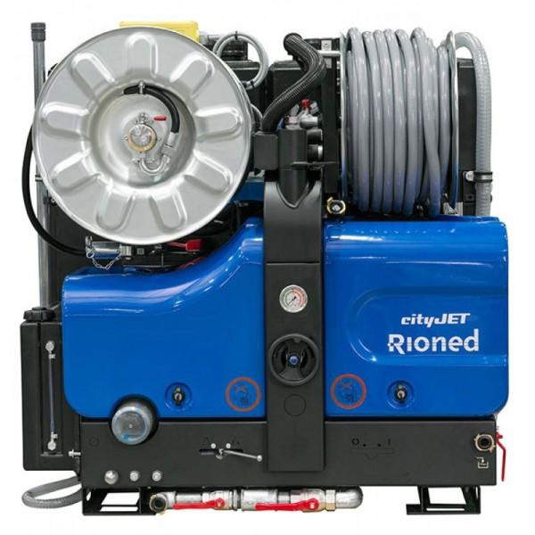 Rioned CityJet vstavaná vysokotlaková čistička potrubí do Ø 450 mm